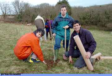 Planting Trees With PCNPA