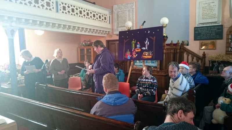 St Davids Church Christmas Worship - 2015