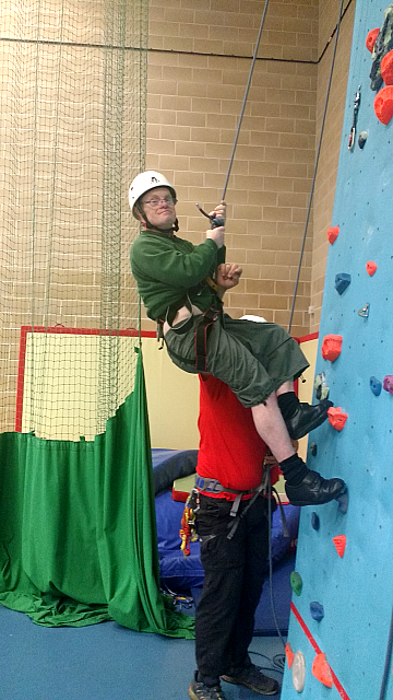 The Climbing Wall - 2016 - 11