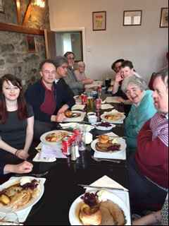 Easter Lunch April 2017