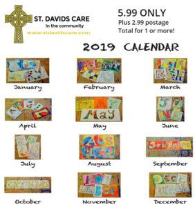 NEWS FLASH...St. Davids Care Trust 2019 Calendar Launch!