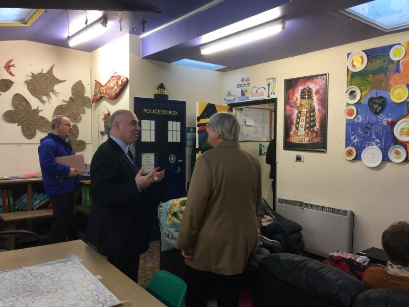 Visit by Paul Davies