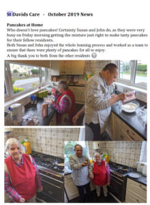 Pancakes at Home - October 2019